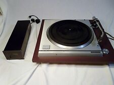 Panasonic Technics SP-10MKII Turntable w/ SH-10E Power Supply Tested Works But