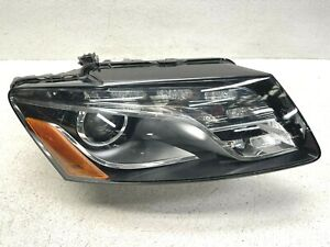 2009-2012 AUDI Q5 RIGHT RH PASSENGER SIDE COMPLETE HID XENON HEADLIGHT LAMP OEM