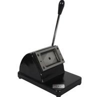 Manual ID Credit PVC Card Punch Round Corner Die Cutter Cutting Machine