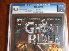 Marvel  GHOST RIDER #1 CGC 9.8 2005 RETAILER INCENTIVE COVER CLAYTON CRAIN