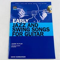 Early Jazz And Swing Songs For Guitar Paperback & Audio CD Learn to Play 2005
