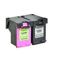 Black Color Ink for HP 63XL Deskjet 2130 3630 OfficeJet 3830 3831 3832 3833 3834