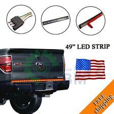 "49"" Tail Gate LED Running/Brake/Reverse/Turn Signal Light Bar Strip Truck SUV"