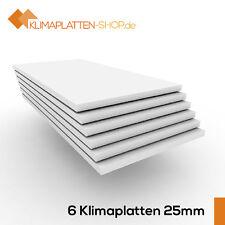 Klimaplatte 25mm, Klimaplatten aus Calciumsilikat (6 Stk. Mehrpack für 3m²)