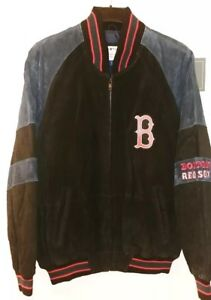 Boston Red Sox Officially Licensed Mens Leather Jacket NWT Size Large