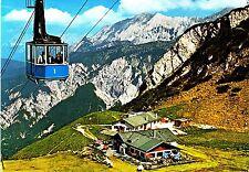 Garmisch-Partenkirchen , Hochalmseilbahn  ,Ansichtskarte,1985 gelaufen