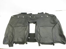 06 13 LEXUS IS250  REAR SEAT TOP UPPER BACK REST COVER LEATHER BLACK OEM A9