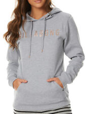 NEW BILLABONG SWELL WOMENS (14) HOODED JUMPER HOODIE FLEECE PULLOVER GREY MARLE