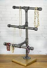 Industrial Pipe Jewelry Display - 3-Tier Jewelry Organizer by WRV
