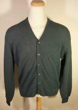 vtg 50s 60s Brentwood 100% ALPACA wool cardigan sweater L