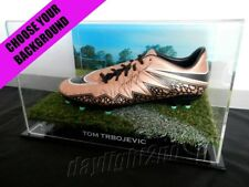 ✺Signed✺ TOM TRBOJEVIC Football Boot PROOF COA Manly Sea Eagles 2018 Jersey