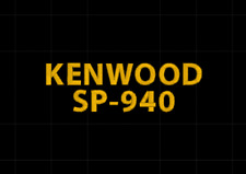 Kenwood SP-940 Ham Radio Amateur Radio Dust Cover