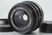 【APP MINT】 MINOLTA M Rokkor 28mm f2.8 W/ Lens Hood For CL CLE From JAPAN #1195
