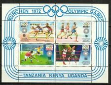 Kenya, Uganda & Tanzania Stamp - 72 Olympics Stamp - NH