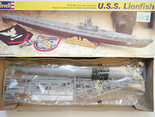 U-Boot Submarine USS LIONFISH, Bausatz Kit, Revell 85.5228 in 1:180 boxed