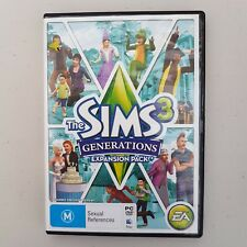 D6 The Sims 3 Generations Expansion Pack PC DVD ROM EA GAME