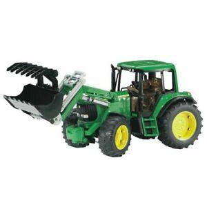 Bruder John Deere 6920 tractor c/w front loader 02052