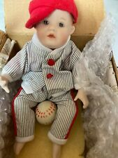 The Ashton-Drake Galleries 92041 Michael Vintage Porcelain Doll Collectable
