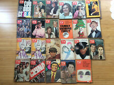 Huge Lot 23 Tv Guides - 1973 & 1975 New York Metro Editions