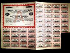 Compañía Azucarera Tucumana,Argentina Share certificate 1959