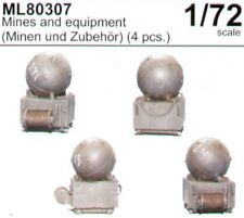 CMK marítimo línea 1/72 minas y equipos (minen und zubehor) # ML80307