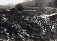 1965 Original TIBOR HONTY Jizera Mountains Czech Landscape Silver Gelatin Photo