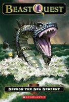 Sepron The Sea Serpent (Beast Quest, Book 2) by Adam Blade