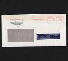OPC 1978 Germany Frankfurt Arthur Anderson Francotyp Private Advertising Meter