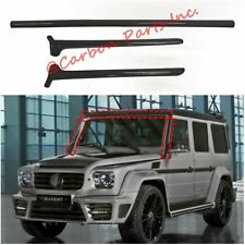 W463 Carbon Fiber Panels for Front Window BRABUS,MANSORY Style G500 G550 G63 G65