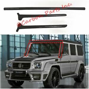 W463 Carbon Panels for Front Window BRABUS,MANSORY Style Mercedes-Benz G-Class