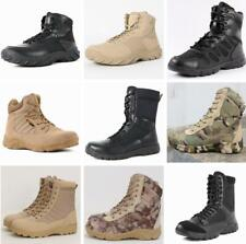 Army Combat Patrol Lace Up Boots Desert Hiking Tactical Cadet Military Jungle