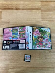 Dora's Big Birthday Adventure Nintendo DS Tested & Working Great! In Box
