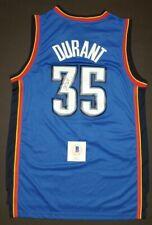 KEVIN DURANT Signed Autographed OKLAHOMA CITY THUNDER sz S jersey. BECKETT