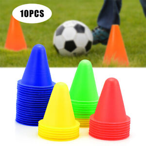 10 Pack Fitness Exercise Sports Training Markers Cones Soccer Rugby AU