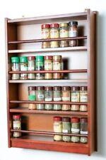 Wooden Kitchen Spice Racks