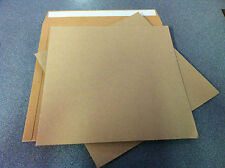 "1000 Record Mailers + 2000 Cardboard Stiffeners - 12"" - Free Delivery"