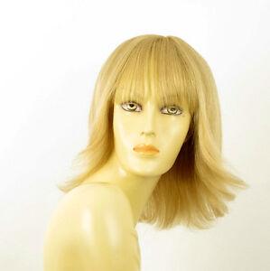 perruque femme 100% cheveux naturel longue blonde ref TABATA  22