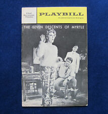 TENNESSEE WILLIAMS Seven Descents of Myrtle PLAYBILL