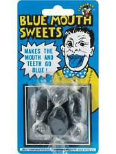 Blue Mouth Sweets Classic Practical Revenge Joke Novelty Halloween Party Trick