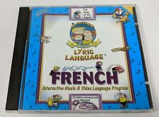 Family Circus Presents Lyric Language FRENCH PC CD ROM MAC and Windoes OS 1992