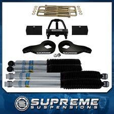 """3"""" Front + 3"""" Rear Lift Kit + Bilstein + Tool 01-10 GMC Sierra 1500 2500 3500 HD"""