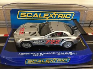 Scalextric Digital Mercedes-Benz SLR McLaren 722 GT C3010 VGC
