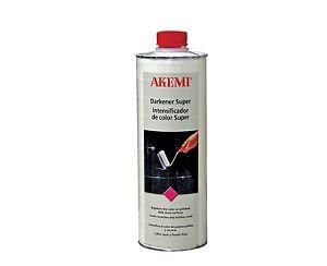Akemi Darkener Super 1 Litre Black Granite Marble Stone Colour Corrector