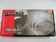 Diamond Pistons Rings #09014145  4.145 Bore-File Fit 1/16, 1/16, 3/16
