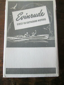 VINTAGE UNOPENED EVINRUDE MOTORS PLAYING CARDS