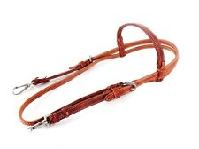 CLASSIC WESTERN COWHIDE LEATHER HORSE COWBOY BRIDLE HEADSTALL RANCH WORK TACK