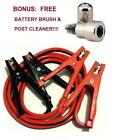 Heavy Duty Car Battery Booster Jumper Cable 300-amp 10 Feet 8 Guage Wpouch