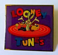 VINTAGE 1994 WARNER BROTHERS PINNACLE DESIGNS LOONEY TUNES PURPLE PIN (X3)