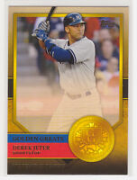 Derek Jeter New York Yankees: Topps Golden Greats 2012 #GG-30 NRMT