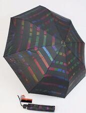 Pierre Cardin gestreifter Automatik Regenschirm für Damen Taschenschirm